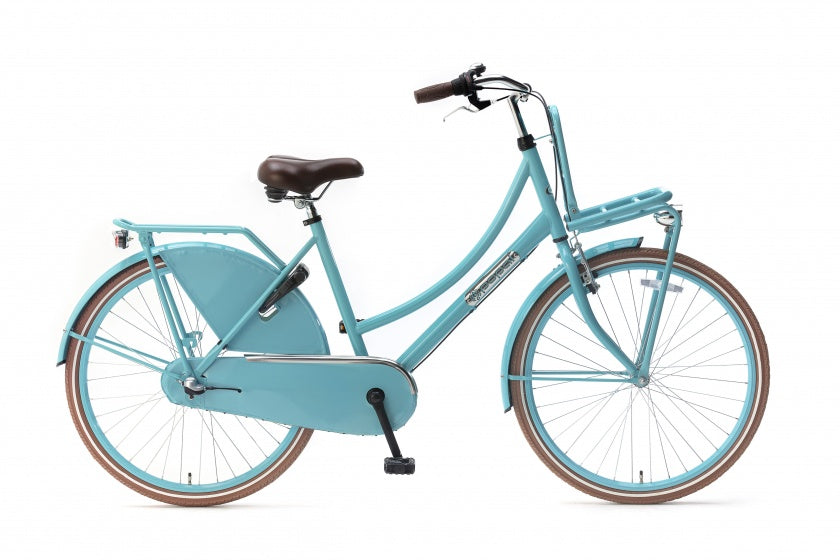 Daily Dutch Basic+ 26 Inch 46 cm Meisjes 3V Terugtraprem Turquoise