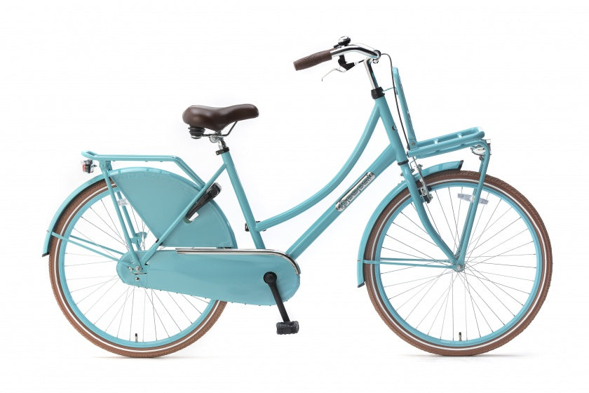Daily Dutch Basic 26 Inch 46 cm Meisjes Terugtraprem Turquoise