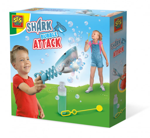 shark bubble attack blauw 200 ml