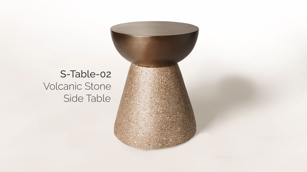 Volcanic Side Table S-Table-02