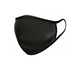 Black | Adult | Reusable Cloth Mask | PACK OF 3