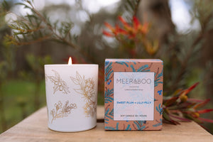 Meeraboo Candle - Sweet Plum & Lilly Pilly