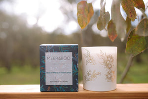 Meeraboo Candle - Blue Cypress & Native Sage