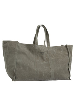 Pony Rider Market Carry All Bag - Waxed Olive