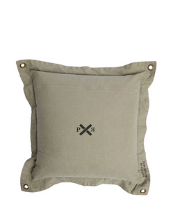 Pony Rider Highlander Cushion - Olive