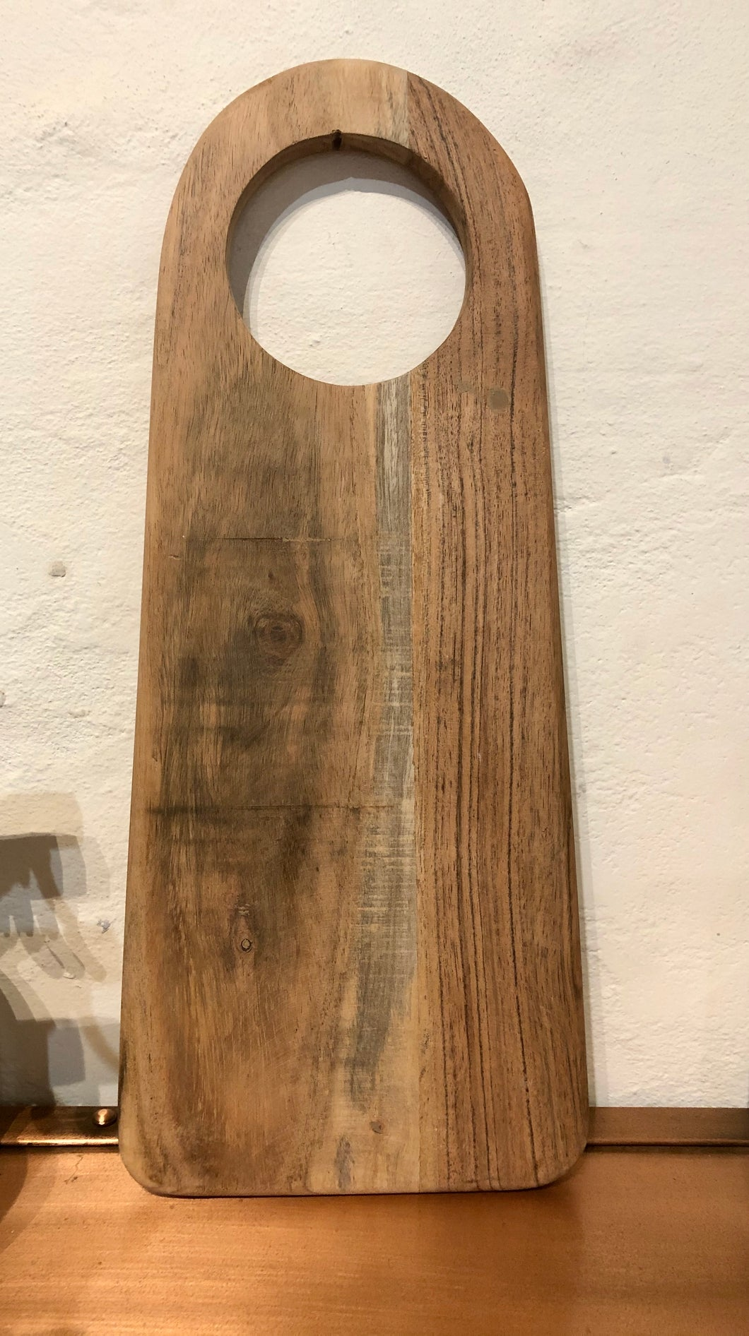 Wooden Paddle Serving/Chopping Board