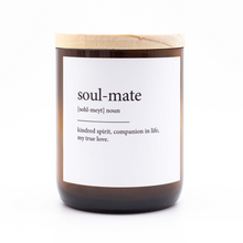 Load image into Gallery viewer, Dictionary Meaning Soy Candle - Soulmate