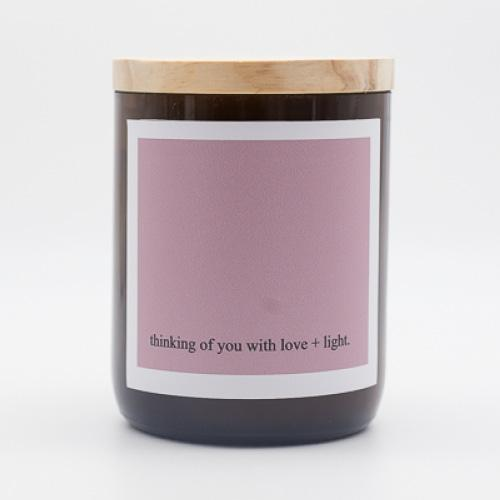 Heartfelt Quote Candle - Thinking of You
