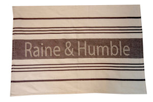 Tea Towel Charcoal Large Raine & Humble