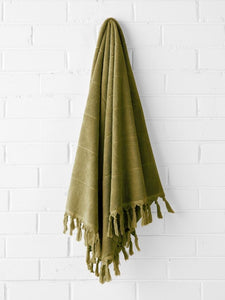 Copy of Aura Paros Bath Towel Set - Olive