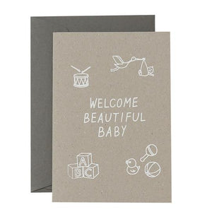 Welcome Beautiful Baby Card