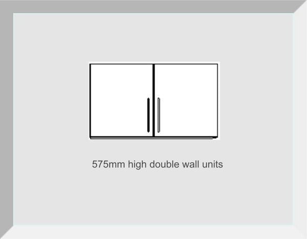 575mm High Double Wall Units Buckingham Dakar