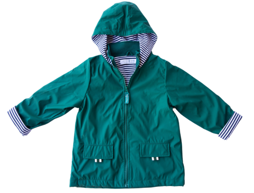 Raincoat - Meadow Green - Lottie and Moo Bowtique