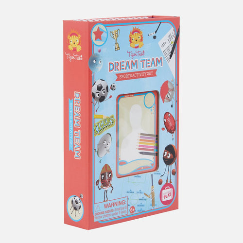 Dream Team - Sports Activity Set - Lottie and Moo Bowtique