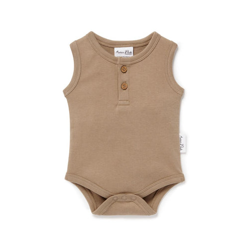 Clay Singlet Onesie - Lottie and Moo Bowtique
