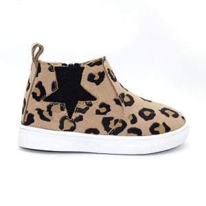 Floyd Child Boot - Leopard - Lottie and Moo Bowtique