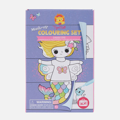 Mash-up Colouring Set - Dress Ups - Lottie and Moo Bowtique