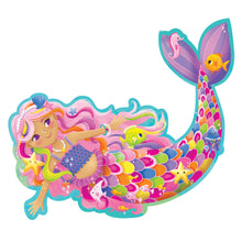 Load image into Gallery viewer, Magic Mermaid Floor Puzzle - Lottie and Moo Bowtique