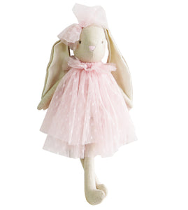 Baby Bea Bunny - Pink - 40cm - Lottie and Moo Bowtique