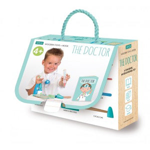 Wooden Toys - The Doctor, 10 pieces - Lottie and Moo Bowtique