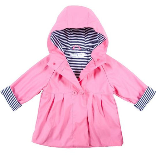 Raincoat - Pink - Lottie and Moo Bowtique