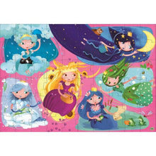 Load image into Gallery viewer, Book and Giant Puzzle - Nature Princesses, 60 pcs - Lottie and Moo Bowtique