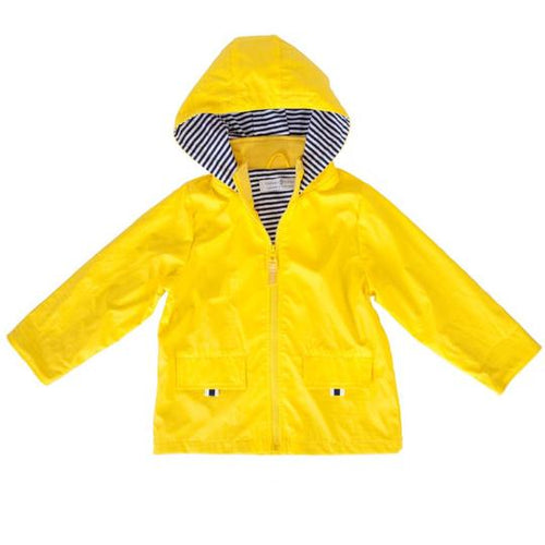 Raincoat - Yellow - Lottie and Moo Bowtique