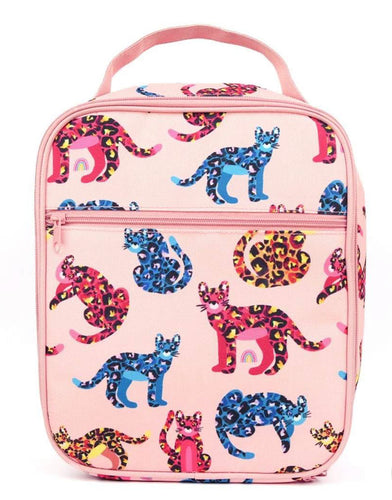 MontiiCo Insulated Lunch Bag - Jungle Cats - Lottie and Moo Bowtique