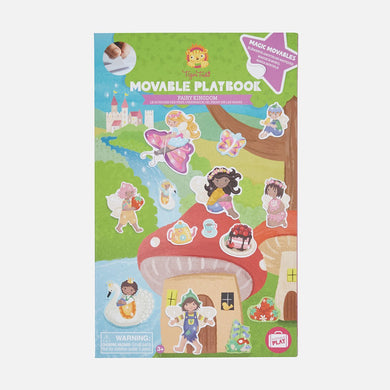 Movable Playbook - Fairy Kingdom - Lottie and Moo Bowtique