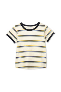 Retro Stripe Tee - Lottie and Moo Bowtique
