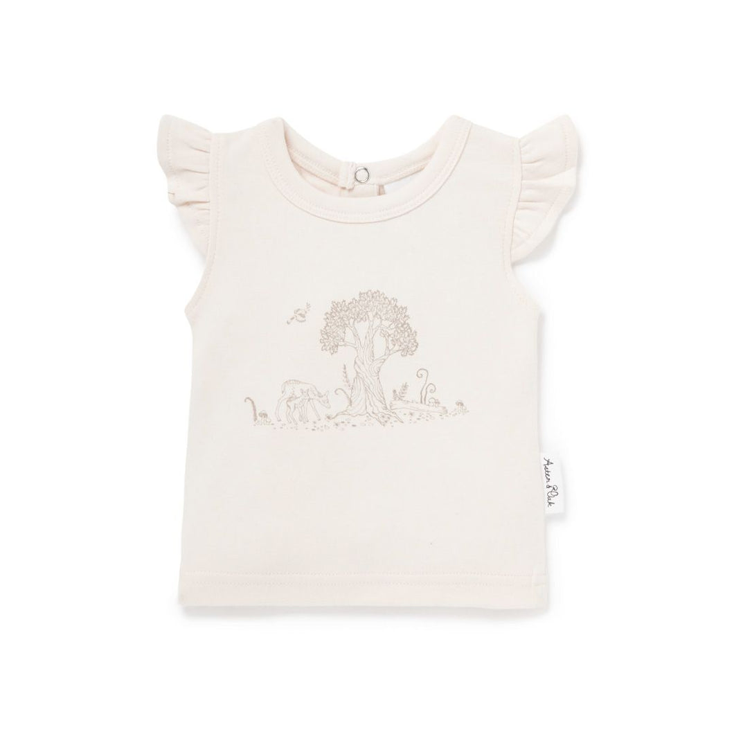 Tree of Life Print Tee - Lottie and Moo Bowtique