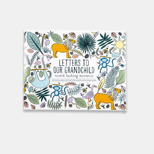 Letters to Our Grandchild - Lottie and Moo Bowtique