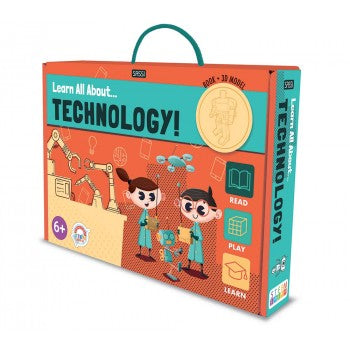 Book and Model Set - Learn all about Technology - Lottie and Moo Bowtique
