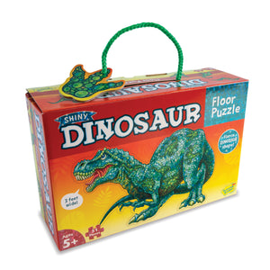 Shiny Dinosaur Floor Puzzle - Lottie and Moo Bowtique