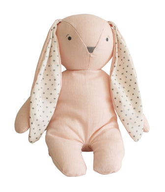 Bobby Floppy Bunny - Pink Linen - Lottie and Moo Bowtique