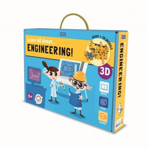Book and Model Set - Learn all about Engineering - Lottie and Moo Bowtique