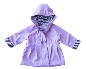 Raincoat - Purple - Lottie and Moo Bowtique