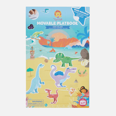 Movable Playbook - Dino Island - Lottie and Moo Bowtique