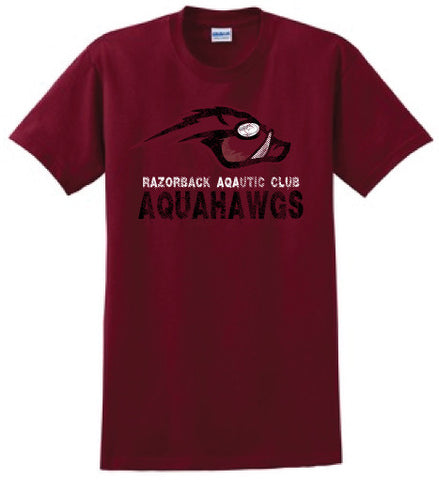 AquaHawgs Team Shirt - Red