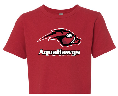 2020-2021 AquaHawgs Red Team T-shirt
