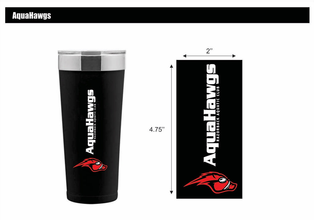 AquaHawgs Stainless Steel Tumbler