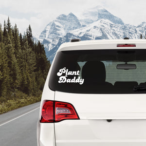 Plant Daddy Decal