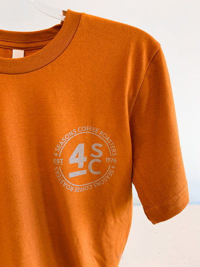 4 Seasons Coffee T-Shirt - Autumn