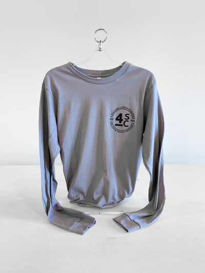 4 Seasons Coffee Long Sleeve T-Shirt - Storm