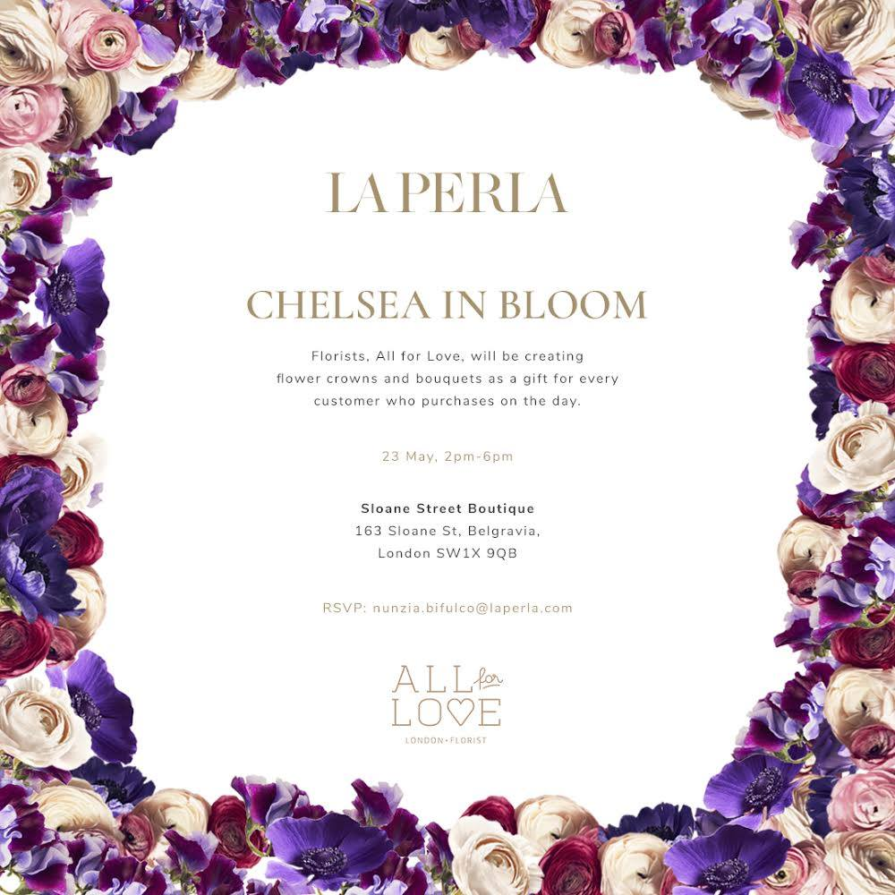 Fabulous Florals for La Perla