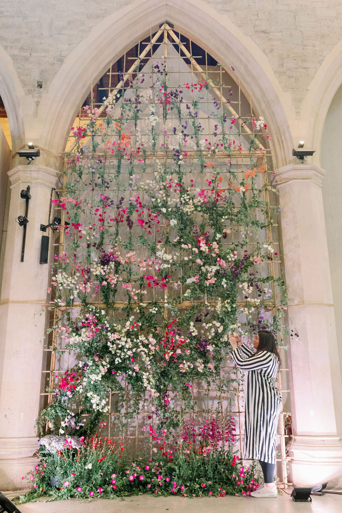 ALL FOR LOVE LONDON REVEALS FLOWER MEMORIES FOR BRITISH FLOWERS WEEK