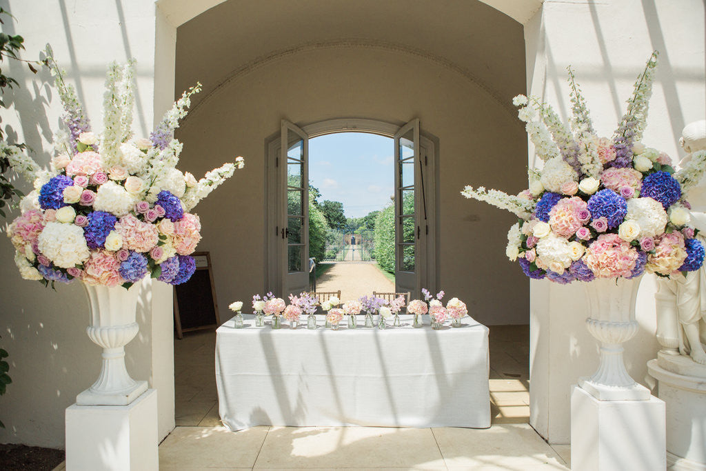 Beautiful pastel purple wedding
