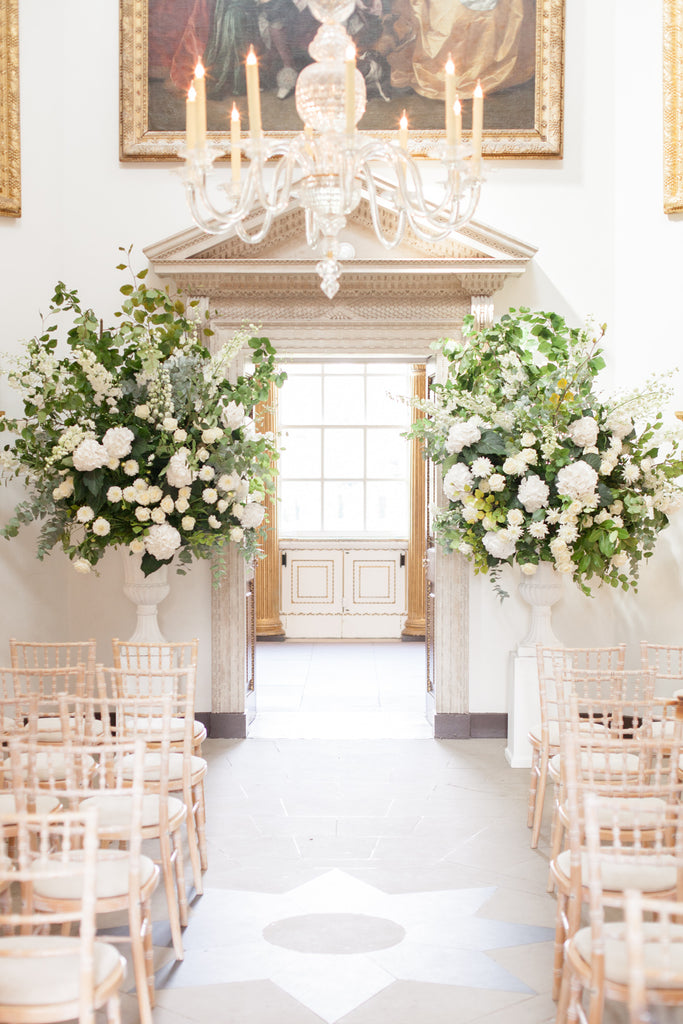 An Elegant Summer wedding at Chiswick House