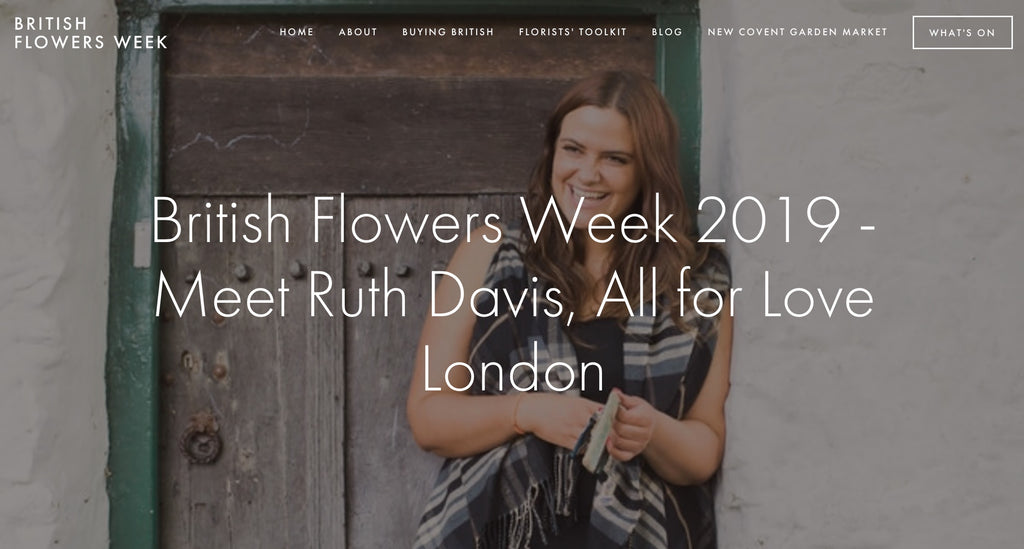 British Flowers Week 7 June 2019