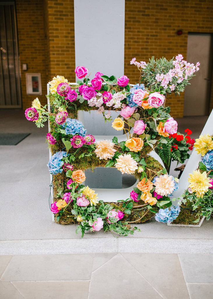 Bright blooms at Bankside